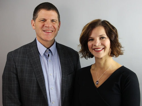 Photo of Randy and Heidi Grieser, Founders