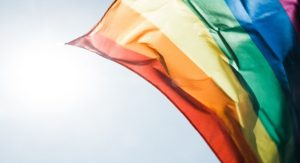 Gender and Sexual Diversity in Youth workshop photo of rainbow flag